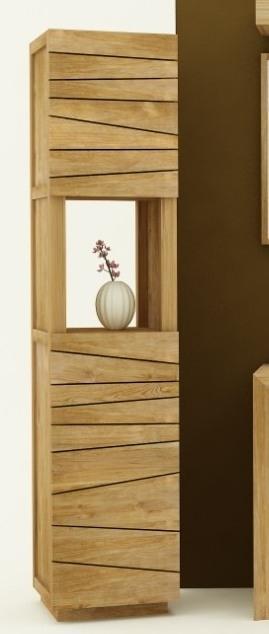 achat vente colonne tag re de salle de bains en teck walk colonne salle debain. Black Bedroom Furniture Sets. Home Design Ideas