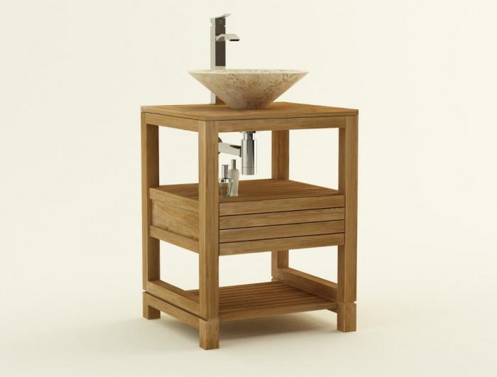 achat vente meuble de salle de bain teck come meuble en teck salle de bain. Black Bedroom Furniture Sets. Home Design Ideas