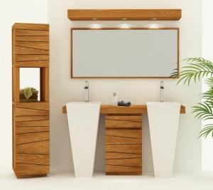 meubles double vasques im 1112 Résultat Supérieur 15 Bon Marché Meuble De Salle De Bain En Teck Pas Cher Image 2018 Kdh6