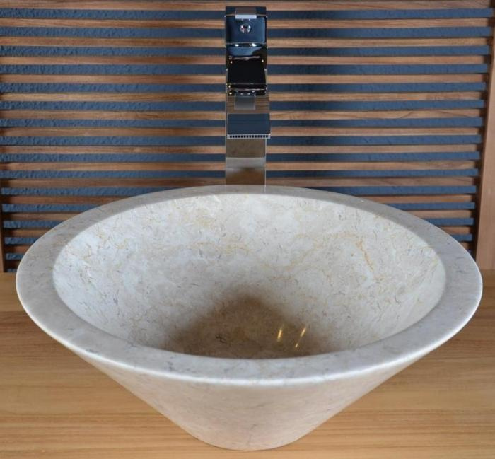 vasque en marbre beige sanur - vasque de salle de bain en marbre ... - Vasque Beige Salle De Bain